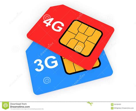 how to convert 3g sim card into 4g template 3d 3g and 4g sim cards stock illustration image 56100423