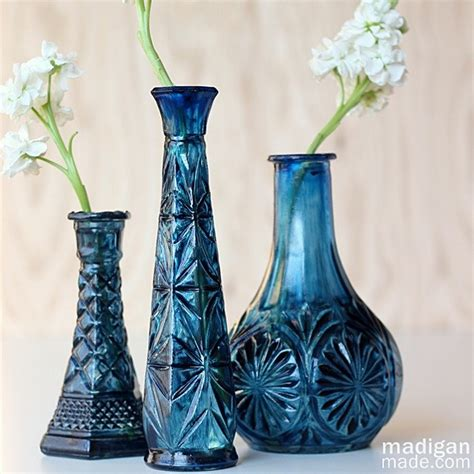 real simple ideas for simple glass vases by kimberly reuther designspeak vases design ideas update thrift store glassware with
