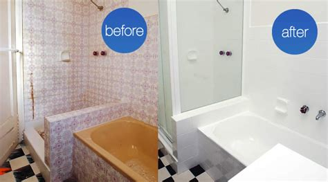 bathroom renovation melbourne thermoglaze australia