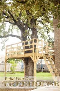 Build Your Own House by Treehouse Ideas For You And The Kids Total Survival