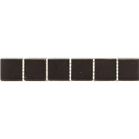 Tile Bordir Two Tone 3 mosaic interlock brown white marble mosaic border tiles