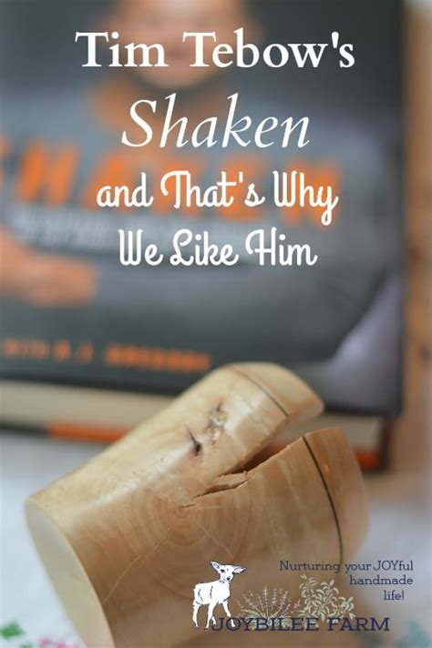 shaken discovering your true identity in the midst of s storms books tim tebow s shaken and that s why we like him joybilee farm