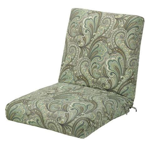 Outdoor Dining Chair Cushions Home Decorators Collection Marona Latte Outdoor Dining Chair Cushion 1573110680 The Home Depot
