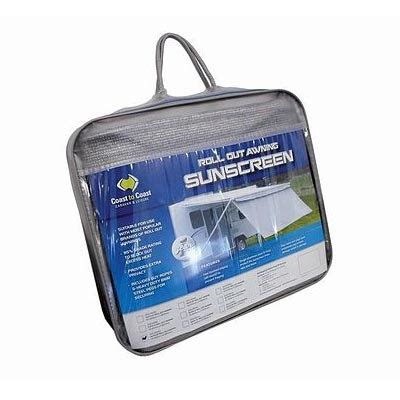 coast to coast awnings coast to coast roll out awning sunscreen my caravan parts