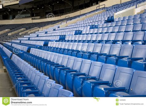 stadium benches stadium seats royalty free stock image image 1223626