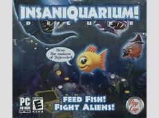 Insaniquarium! Deluxe (2006) J2ME box cover art - MobyGames J2me Games