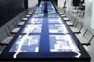 Interactive Meeting Table Screens Built Into The Conference Table Posted By Nyc Office Suites 1 800 346 3968 Sales