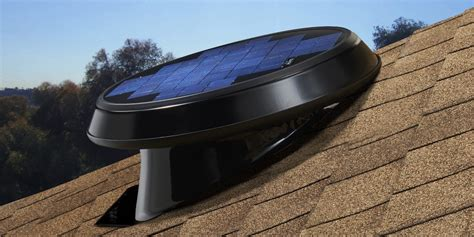 Solar Roof Light Light Solar Attic Fan