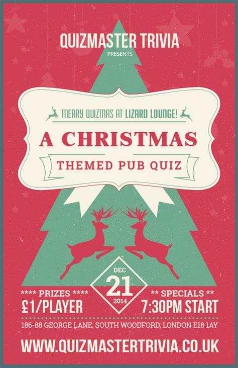 Themes Pub Quiz | merry quizmas a christmas themed pub quiz on 21st
