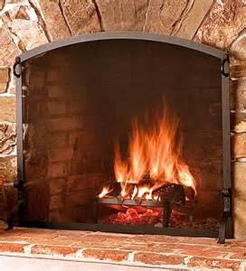 small flat guard fireplace screens plow hearth