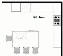small kitchen floor plans with islands 13 best images about kitchen plans on pinterest outdoor