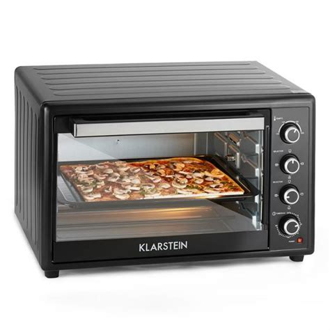 Oven The Baker 100 Liter masterchef xl electric oven 100l 2700w stainless steel black black klarstein