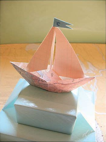 Origami Sailing Boat - image result for http dsharp typepad a