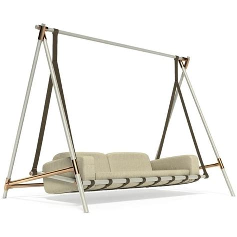 sids swing legend lacquered aluminium and copper outdoor swing