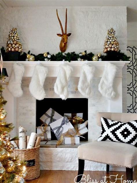 top  elegant  dreamy white  gold christmas