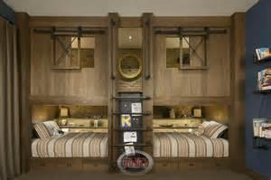 Perpendicular Bunk Beds 31 Custom Quot Jaw Dropping Quot Rustic Interior Design Ideas Photos