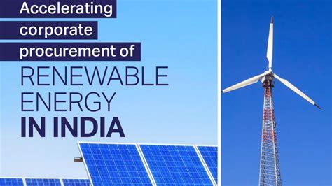 accelerating corporate procurement  renewable energy
