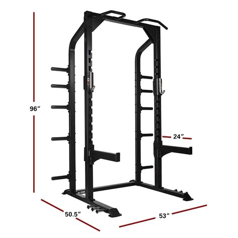 Half Rack Weight Set by Xmark Xm 9014 Commercial Half Rack