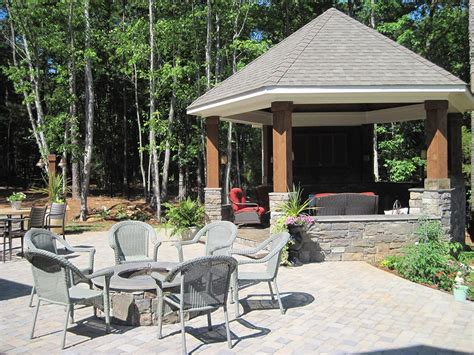 outdoor gazebo outdoor gazebos with screens pergola design ideas