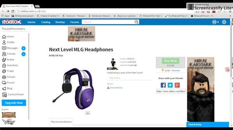 the next level codes roblox code expired how to get the next level mlg headphones
