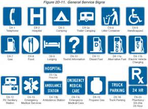 the color of a motorist service sign is fhwa mutcd 2003 edition revision 1 figure 2d 11