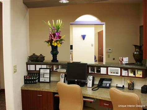 dental office front desk design what color to paint office dental office showcase 2