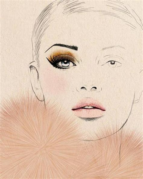 Make Up Essay by Makeup Drawing On Paper Mugeek Vidalondon