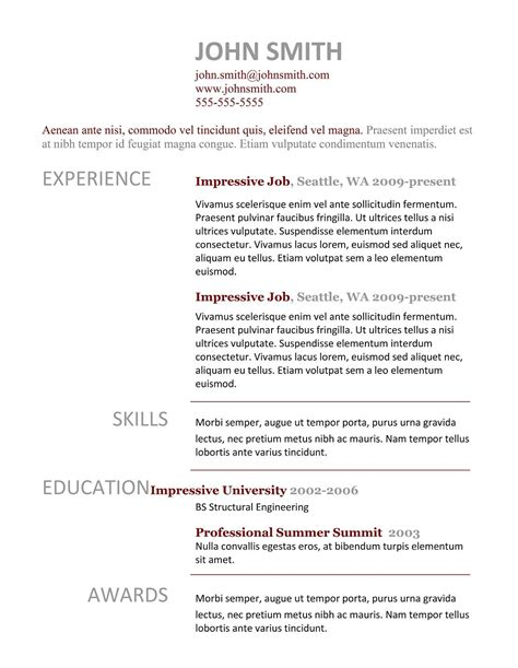 what does a resume cover page look like pdf 2017 simple resume template