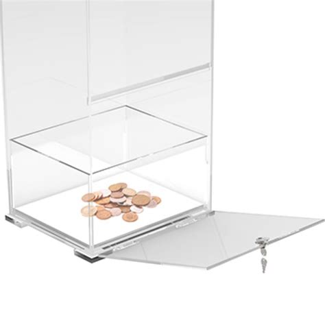 floor stand collection box