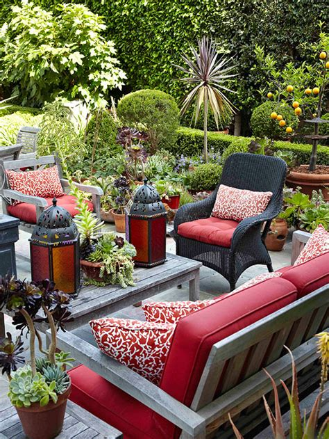Outside Patio Decor Modern Furniture Patio Decorating Tips For Summer 2013