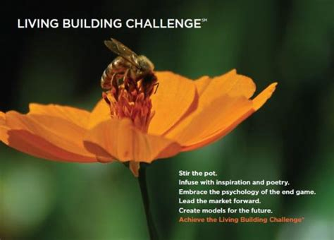 the living building challenge conference in presentation on the living building