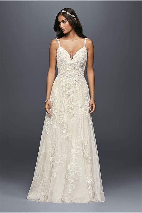 Mellisa Dress sweet scalloped a line wedding dress with