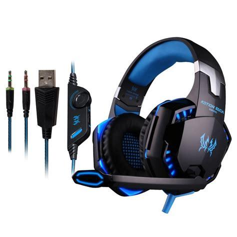Headset Gaming Kotion G2000 kotion each g2000 gaming headset headphone ear phone
