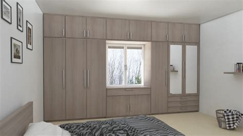 Wardrobe Pictures by Wardrobe With Loft Design Ideas