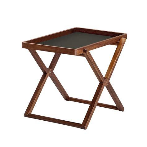 Folding Coffee Table With Tray Walnut By Caon Arreda Coffee Table Trays