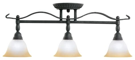 Home Decor Accents Wholesale by Kichler Pomeroy 3 Light Track Lighting In Distressed Black