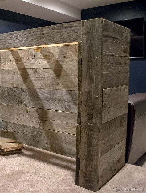Bar Plans by Cave Wood Pallet Bar Free Diy Plans Infarrantly