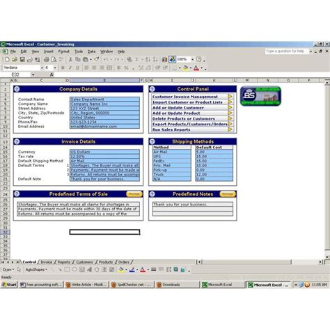 Accounting Software Templates Free Accounting Formulas In Excel 2007 Pdf Free Free Accounting Templates In Exceldownload The
