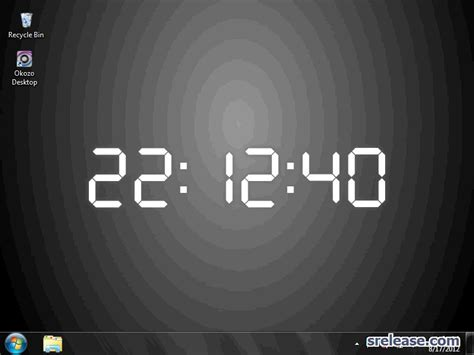 wallpaper desktop clock download grey digital desktop clock wallpaper desktop