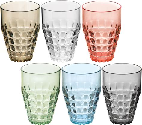 bicchieri guzzini guzzini set 6 bicchieri alti tavola bicchieri