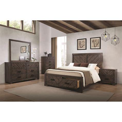 bedroom groups coaster lawndale king bedroom group rife s home