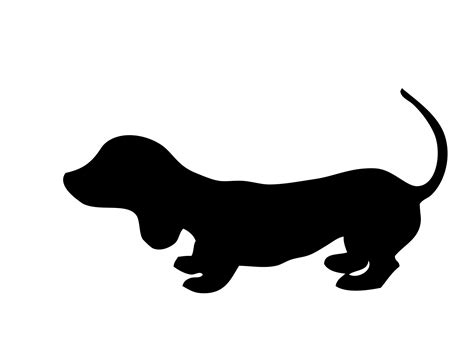 dog silhouette free stock photo public domain pictures