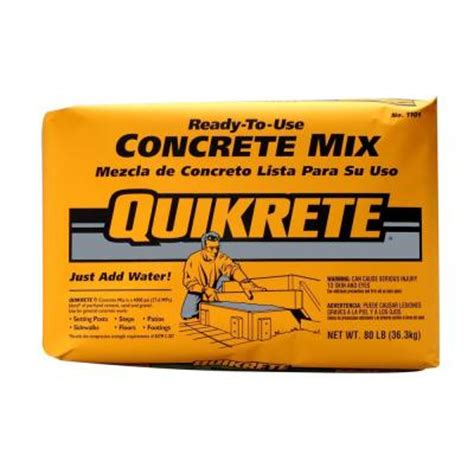 Kitchen Faucets Toronto quikrete 80 lb concrete mix 110180 the home depot