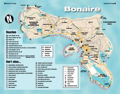 bonaire map bonaire island map caribbean bermuda maps scubas cruises and caribbean