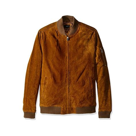 Jaket Suede Suede Jacket obey pilot suede jacket mens clothing from cooshti