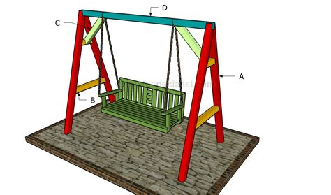 how to make swings how to build an a frame swing howtospecialist how to