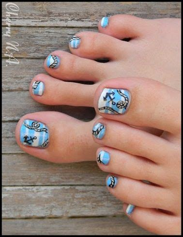 pattern toe nails 19 best pedicure patterns images on pinterest pedicures