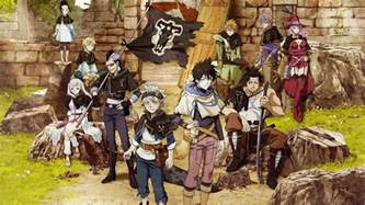 impressions    black clover anime hint