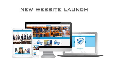New Office Website Launches by New Website Launch Announcement Joseph Optima Co Limited