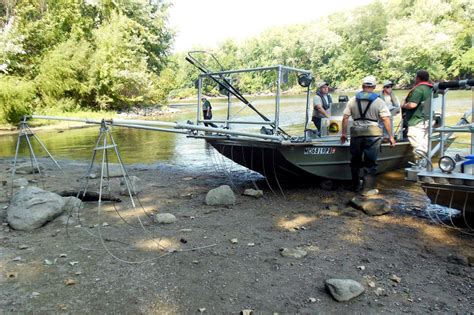 balcer boats to prepare for invasive asian carp dnr tests its carp